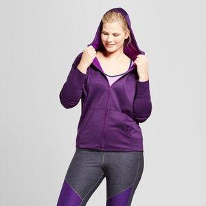 0faaeb5ddbe Champion Tops - Women s Plus-Size Tech Fleece Zip Front Jacket